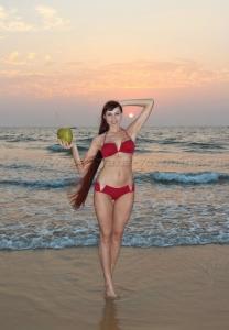 *Арабское море...На закате*