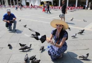 На площади Святого Марка