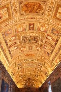 Потолок Географической галереи