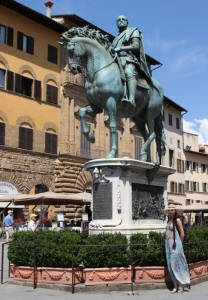 Памятник Козимо Медичи