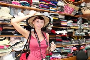 Купила шляпку)