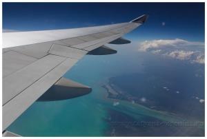 Над Карибским морем.