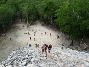 Подъём на Эль-Кастильо